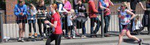 Michelle Maxwell running in the London Marathon