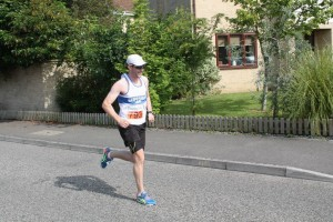 Chris Scothern in Frome Half marathon